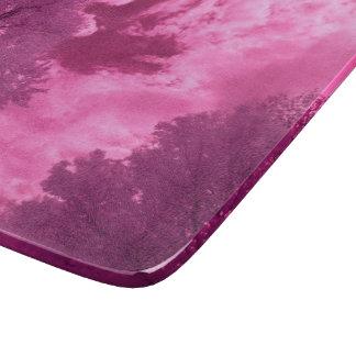 Planche À Découper Nuage rosâtre d'infrarouge de tonalités