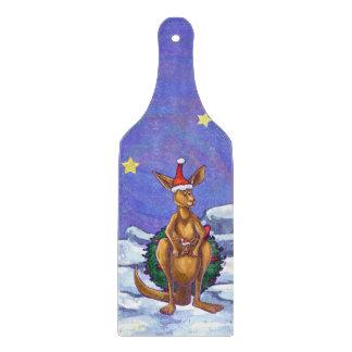 Planche À Découper Nuit étoilée de Noël de kangourou