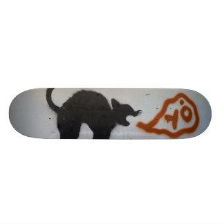 Planche À Roulette Chat de patin de graffiti
