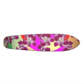 Planche À Roulette Exposition d'or d'ORCHIDÉE de douche