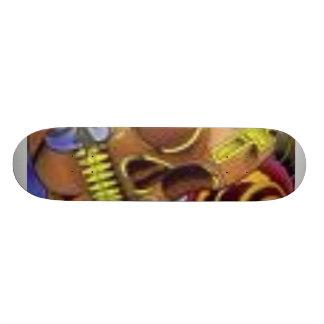 Planche À Roulette planche à roulettes de crâne