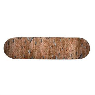 Planche À Roulette Planche à roulettes de mur de briques