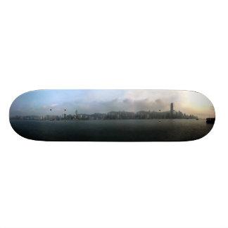 Planche À Roulette Plate-forme de patin de paysage urbain de Hong