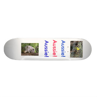 Planche à roulettes australienne d'animaux plateau de planche à roulettes