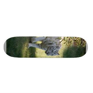 Planche à roulettes blanche de Tiger-DSC_4657e