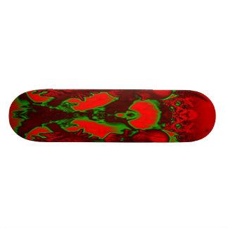 Planche à roulettes de Bio-Crâne Skateboards Personnalisables