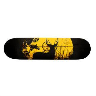 Planche à roulettes de chasseur de cerfs communs skateboards personnalisés