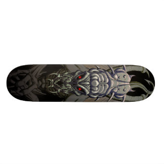 Planche à roulettes de crâne de démon (variante plateaux de skateboards customisés