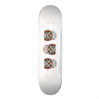 planche à roulettes de crâne de sucrerie skateboard old school 18,1 cm