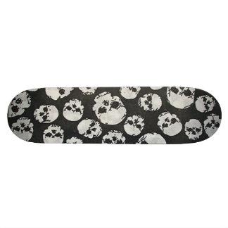 planche à roulettes de crânes skateboard old school 18,1 cm