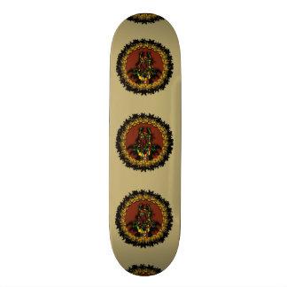 Planche à roulettes de créature skateboard customisable