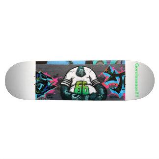 planche à roulettes de graffiti plateau de skate