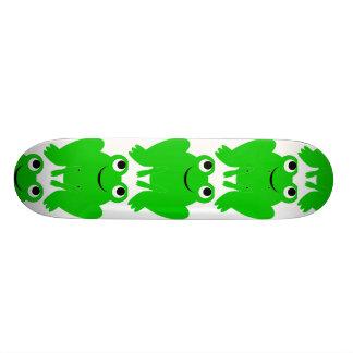 Planche à roulettes de grenouille mini skateboard 18,4 cm