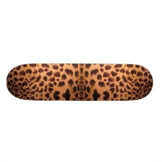 Planche à roulettes de guépard skateboard customisable