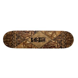 Planche à roulettes de Hawaïen de Tiki de Tapa Planches À Roulettes Customisées