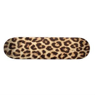 Planche à roulettes de léopard/poster de animal skateboards customisés
