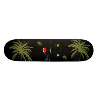 Planche à roulettes de panthère noire skateboards personnalisables