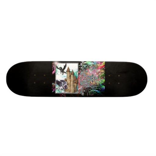 planche à roulettes de Pegasus d'animaux d'imagina Skateboard