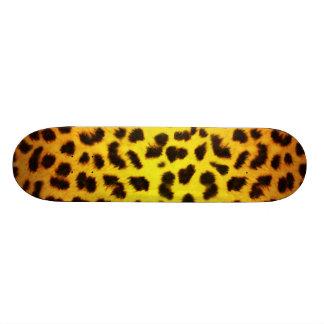 Planche à roulettes de poster de animal skateboard