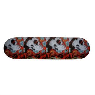 planche à roulettes de sull plateaux de skateboards