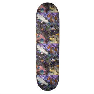 Planche à roulettes de vie marine plateaux de skateboards