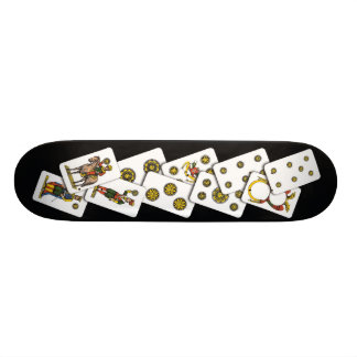 Planche à roulettes II de Denari Mini Skateboard 18,4 Cm