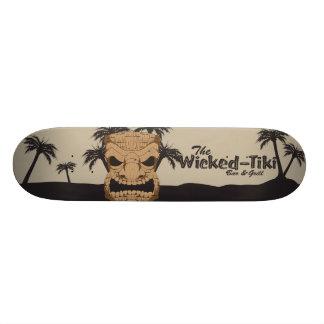 Planche à roulettes mauvaise de barre de Tiki Skateboard 20 Cm