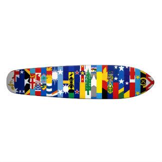 Planche à roulettes Oceanian de drapeaux Skateboards