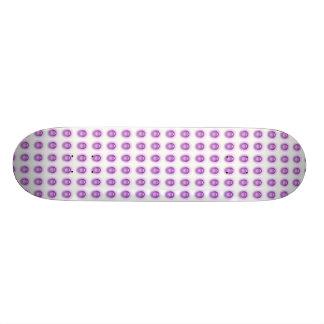 Planche à roulettes pourpre de LED Skateboard