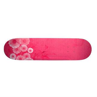 """Planche à roulettes (ROSE) """"de FLEUR HAWAÏENNE"""" Mini Skateboard 18,4 Cm"""