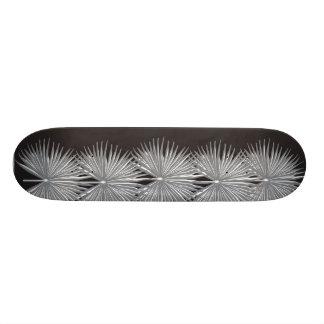 Planche à roulettes sauvage de graphique de paumes plateau de skateboard