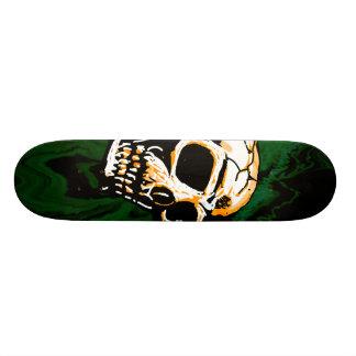 Planche à roulettes toxique de crâne skateboard 19,7 cm