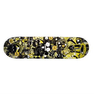 Planche à roulettes urbaine d'Aleloop de singe d'a Skateboard Old School 21,6 Cm