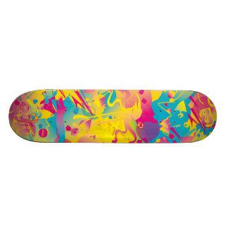 Planche à roulettes urbaine superbe lumineuse supe plateaux de skateboards