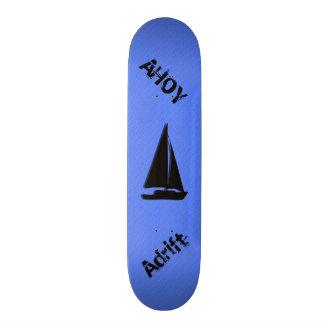 Planches À Roulettes Bleu nautique