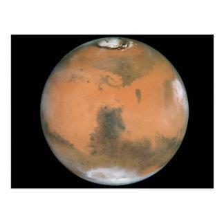 Planète Mars Carte Postale