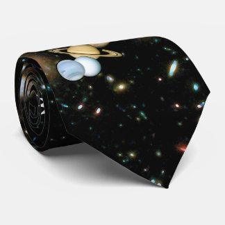 Planète Pluton WTF ! ? Astronomie drôle de geek de Cravate