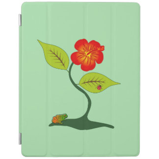 Plant en bloem iPad cover