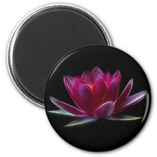 Plante aquatique de fleur de Lotus Magnet Rond 8 Cm