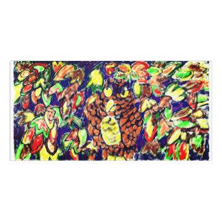 Plaque De Porte art cinq de chute de hibou