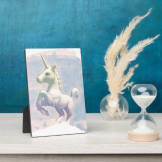 Plaque de table 5x7 (rêves de licorne de lune)