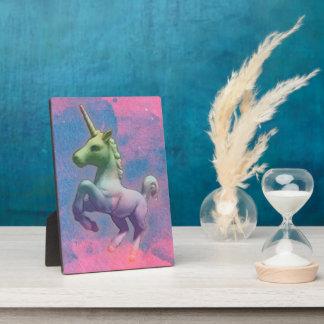 Plaque de table 5x7 (rose de licorne de petit