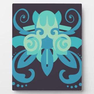 Plaque Photo Abstraction deux Poseidon