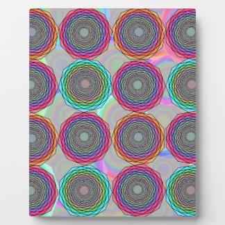 Plaque Photo Abstraction géométrique