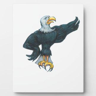 Plaque Photo Américain féroce Eagle