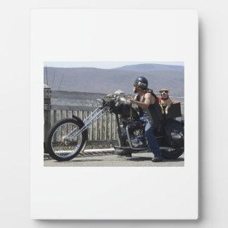 Plaque Photo Amis de moto