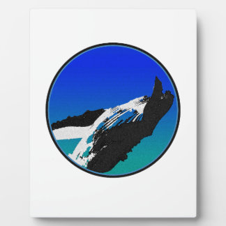 Plaque Photo Baleine