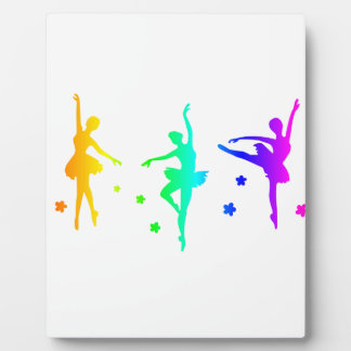 Plaque Photo Ballet d'arc-en-ciel
