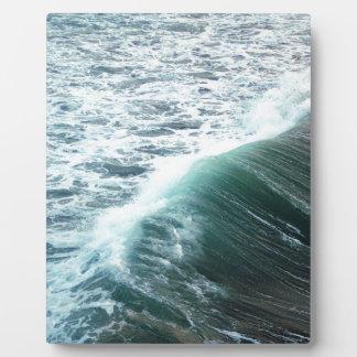 Plaque Photo Bleu de l'océan pacifique