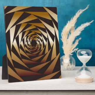 Plaque Photo Conception géométrique d'impression de motif de